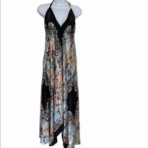Gorgeous Silk Scarf Dress Free Size